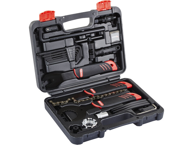 Red Cycling Products Home Toolbox Werkzeugkoffer 22 tlg.